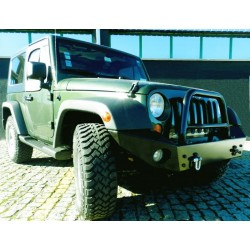 A-Bar pour Pare Choc AV AFN Jeep Wrangler JK 2007-2011 4p