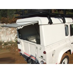 Hard Top Aluminium AFN Land Rover Defender 110 Crew Cab