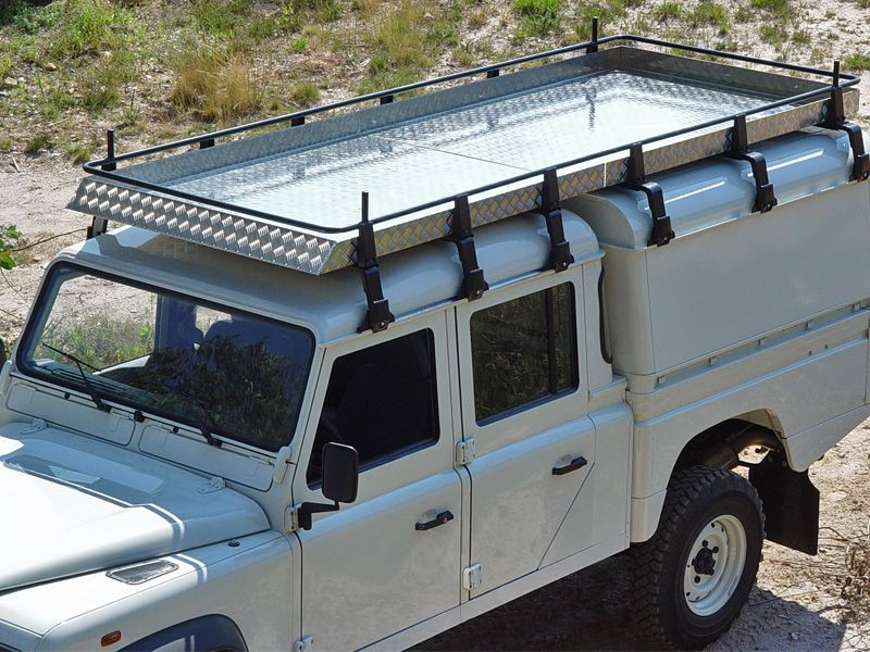 Galerie Acier AFN Land Rover Defender 130