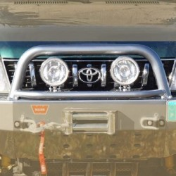 A-Bar pour Pare Choc AV AFN Toyota KZJ95 KDJ95 1996-2002