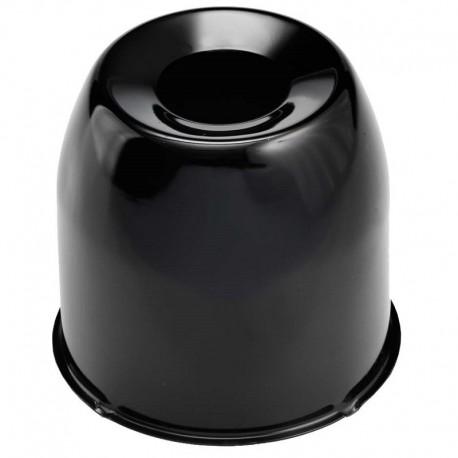 Cache Moyeu Ø110mm Noir Fermé