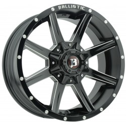 Jante BALLISTIC 956 9x17 5x127 CB83.7 ET+12 Black Full Machined