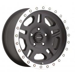 Jante PRO COMP série 29 8x16 5x165.1 CB130.81 ET+7 Machined Black