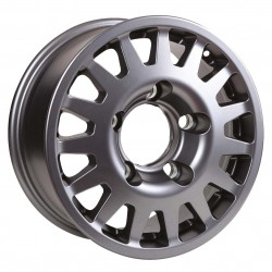 Jante Aluminium 4x4 MANANO 7x16 6x139.7 CB110.5 ET+30 Charge 1300Kg Grise