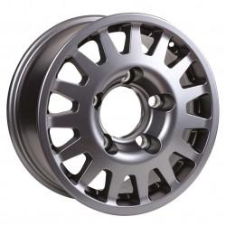 Jante Aluminium 4x4 MANANO 7x16 6x139.7 CB110.5 ET+15 Charge 1300Kg Grise