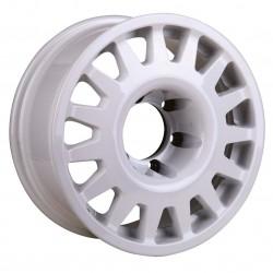 Jante Aluminium 4x4 MANANO 8x17 6x139.7 CB110.5 ET0 Charge 1400Kg Blanche