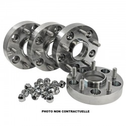 Adaptateurs Aluminium HOFMANN 30mm De 5x114.3 Vers 5x127 (kit de 4)