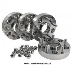Elargisseurs de Voie Aluminium HOFMANN 30mm Bmw X5 (E70/X70) (kit de 4)
