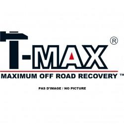 Adaptateur Acier T-MAX : Entraxe 254mm vers 154mm