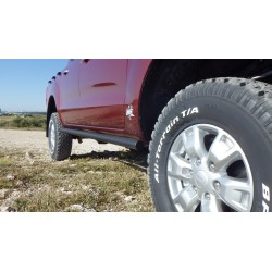 Barres Latérales N4 (paire) Ford Ranger PX 2012-2015