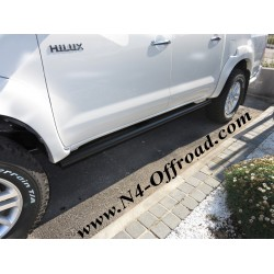 Barres Latérales N4 (paire) Toyota Hilux Vigo 2005-2015