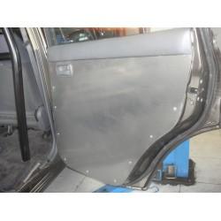 Panneaux Intérieurs Portes AR Aluminium (paire) Toyota HDJ80 HZJ80