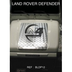 Protection Aluminium Capot LR Defender 90 110 130 (sauf TD4)