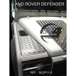 Protection Dessus d'Ailes AV Aluminium LR Defender 90 110 130 (paire)