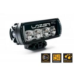 Barre/Rampe LED 08'' LAZER ST-4 Noire Faisceau Spot (longue portée) 15° 43w 3472lm Garantie 5 ans