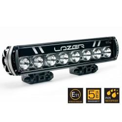 Barre/Rampe LED 14'' LAZER ST-8 Noire Faisceau Spot (longue portée) 15° 86w 6944lm Garantie 5 ans