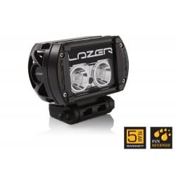 Barre/Rampe LED 05'' LAZER T-2 Noire Faisceau Spot (longue portée) 15° 22w 2080lm Garantie 5 ans
