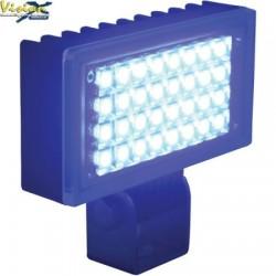Phare de Travail LED Rectangulaire 3.4'' VISION X UTILITY 6W 0.5A 500LM Faisceau Flood (AB) 120° Bleu