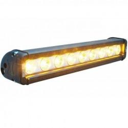 Barre/Rampe LED 12'' VISION X XMITTER LOW PRO 27W 2.052LM Faisceau Spot (LP) 10° Ambre