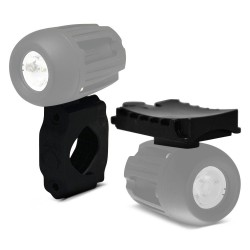 Kit Support Guidon + Support Casque VISION X pour Phare LED SOLSTICE MINI SOLO