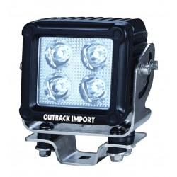 Phare de Travail LED Carré 5'' OUTBACK IMPORT 40W 4150LM Faisceau Spot (AB)