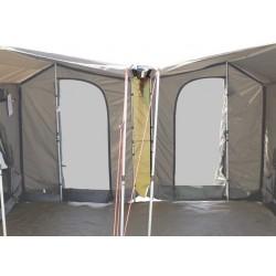 Connecteur pour Raccordement Frontal de 2 Tentes OZTENT RV3 ou RV4