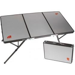 Table de Camping Pliante OZTENT BI-FOLD • Dessus Aluminium