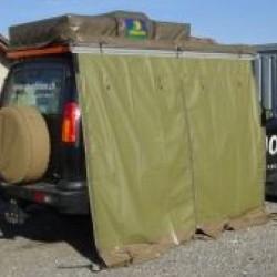 Paroi Arrière • Auvent Latéral HOWLING MOON Safari 250 • Vert