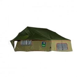 Tente de Toit Sud-Africaine HOWLING MOON Stargazer 140 • Verte