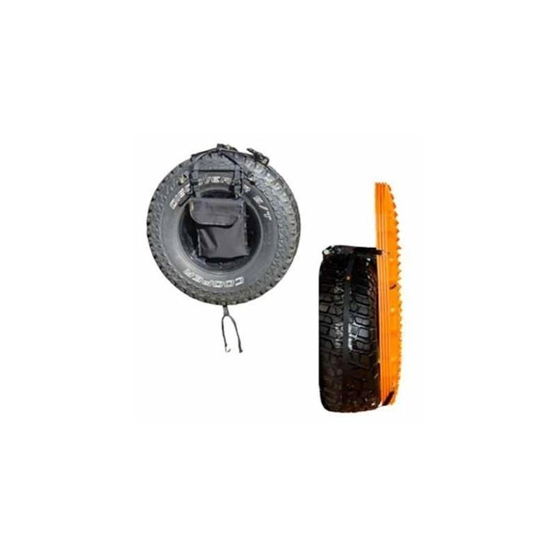 kit de fixation rapide sur roue de secours pour plaques maxtrax mkii mtxrwh. Black Bedroom Furniture Sets. Home Design Ideas