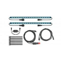 Kit LED RHINO-RACK FOXWING • Eclairage de Bivouac • 2 Barres LED 300 mm