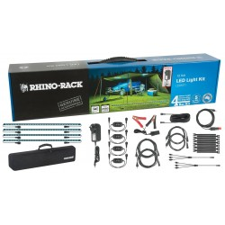 Kit LED RHINO-RACK • Eclairage de Bivouac • 4 Barres LED 500 mm • EU