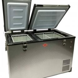 Réfrigérateur congélateur portable à double compartiment SNOMASTER SMDZ-CL56D • 56 litres • 12v 24v 220v