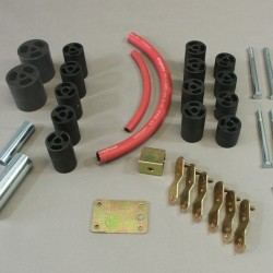 Kit body lift TRAIL MASTER +75mm • Jeep Wrangler TJ 1996+