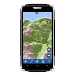 Smartphone tout-terrain étanche GPS GLOBE 4X4 IPX + Application GlobeXplorer