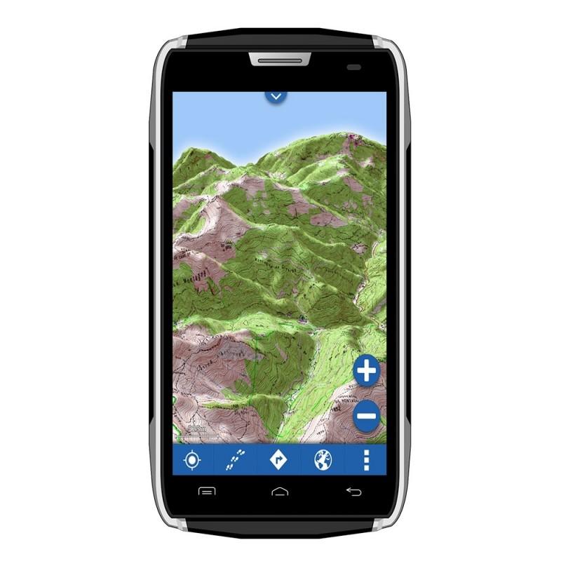 smartphone tout terrain tanche gps globe 4x4 ipx. Black Bedroom Furniture Sets. Home Design Ideas