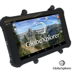 Tablette tactile étanche et antichocs GPS GLOBE 4X4 X8 Androïd + GlobeXplorer + IGN France