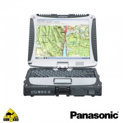 PC durci PANASONIC TOUGHBOOK CF-19 neuf + OZI PC + Antenne Gps Externe