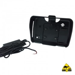 Berceau + alimentation standard 12v direct batterie pour GPS GLOBE 4X4 430