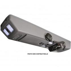 Console de toit longitudinale 4WD INTERIORS pour Isuzu D-Max Double Cab 2003-2012