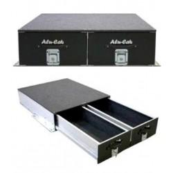 Tiroir double ALU-CAB Long (1450mm) - Dimensions extérieures 1505x1000x281mm