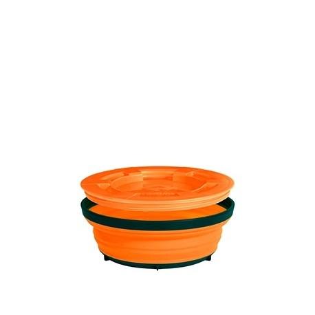 boite alimentaire herm tique pliante 600ml sea to summit x. Black Bedroom Furniture Sets. Home Design Ideas