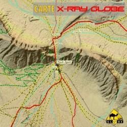 Maroc 1:100 000 Carte topo 3D au format XRAY