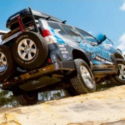 Pare-chocs KAYMAR arr Toyota KDJ 150 avec radar