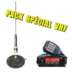 PACK CRT 2M VHF + ANTENNE SIRIO MAG