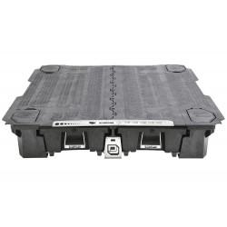 Systeme decked tiroirs+plateau isuzu dmax 2012+ crew cab