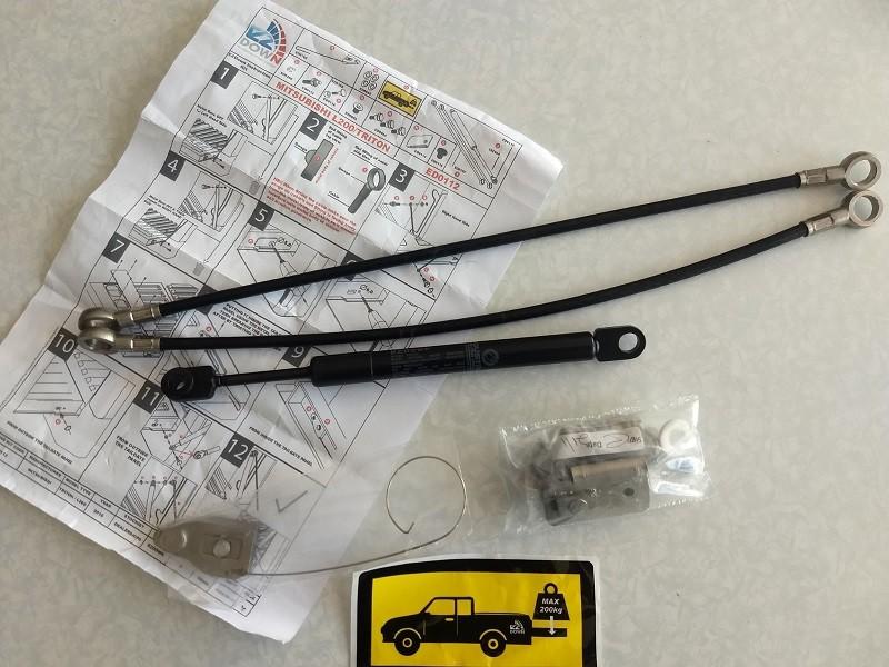 Kit vérins de hayon de benne EZDOWN pour Mitsubishi L200 KB4 2006-2015