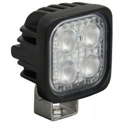 Phare de Travail Carré LED VISION X DUR MINI-4 12W Faisceau Flood (AB) 60°