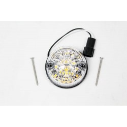 Clignotant Avant Led Cristal 73mm LR Defender 90/110/130 2007+