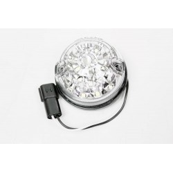 Feu de Position Avant Led Cristal 73mm LR Defender 90/110/130 2007+